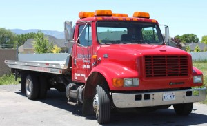 We also offer towing services.